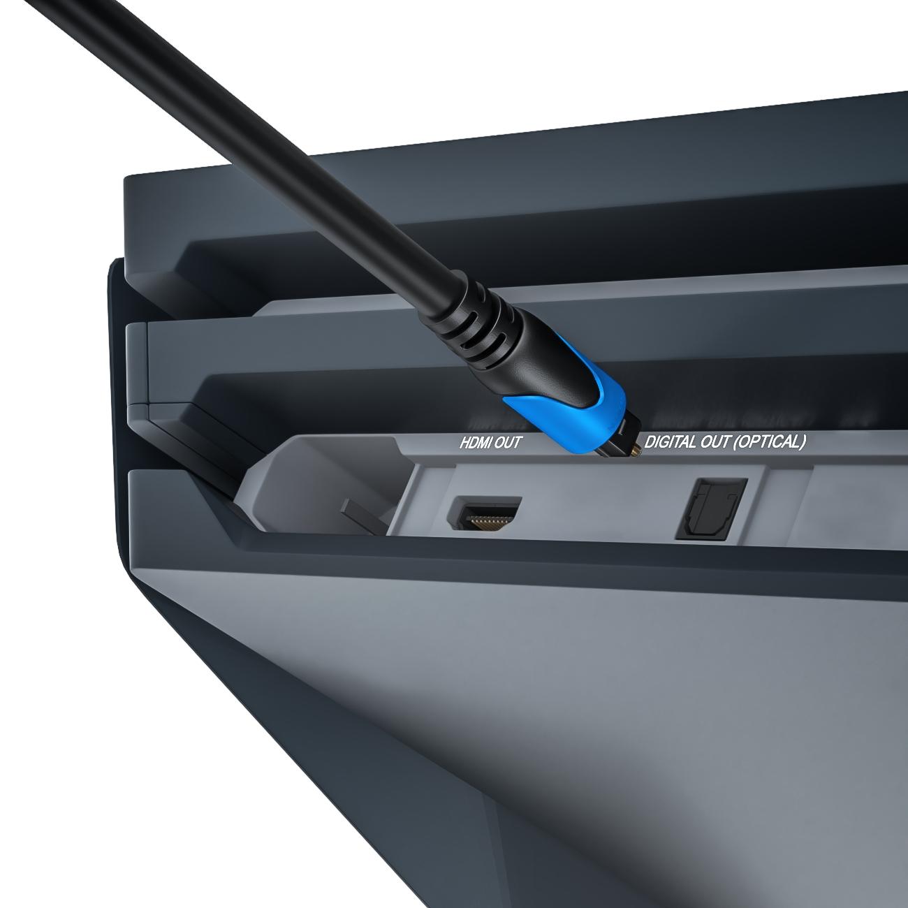 anschluss optisches audiokabel