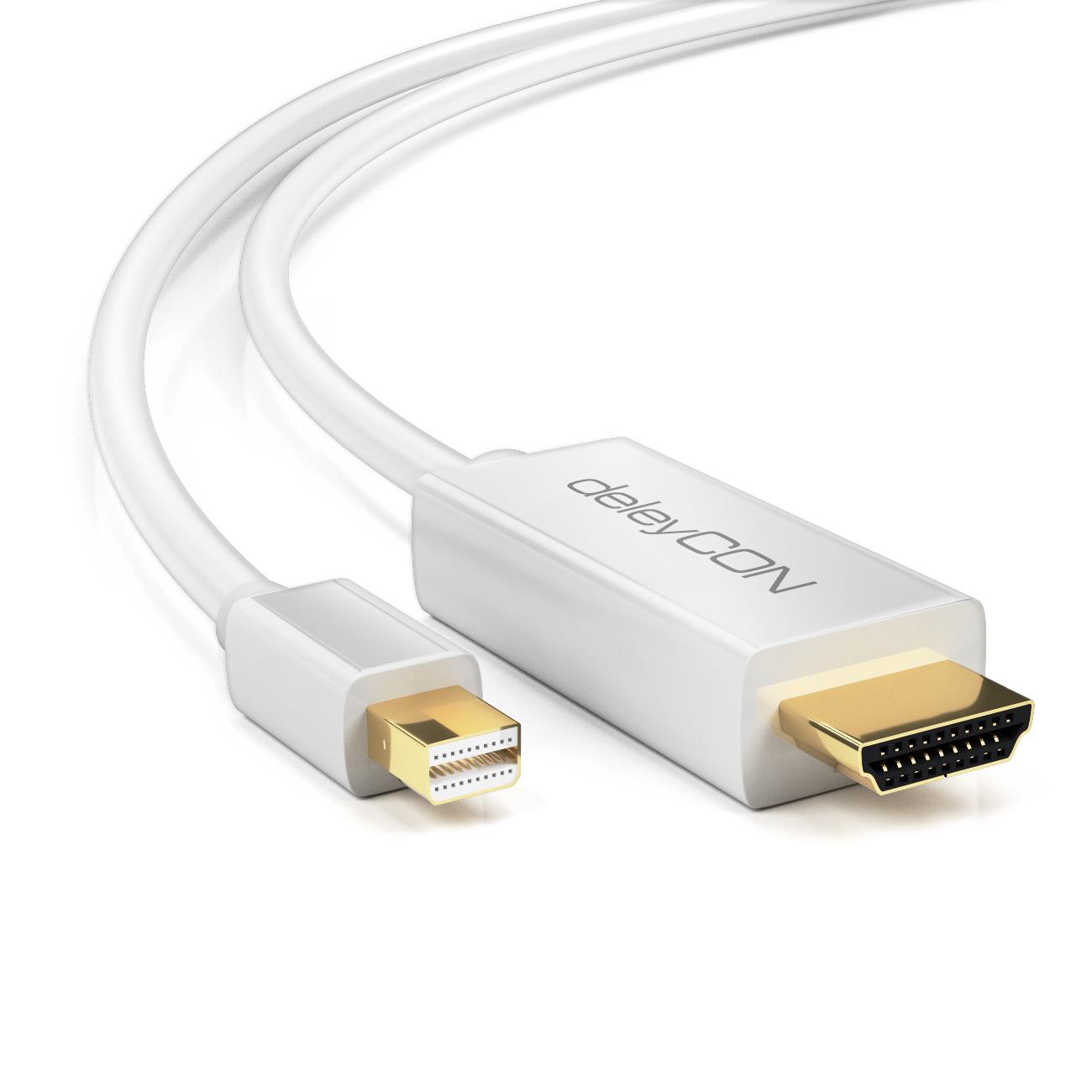 Deleycon Mini Displayport Zu Hdmi Kabel Macbook Pro To Wiring Diagram