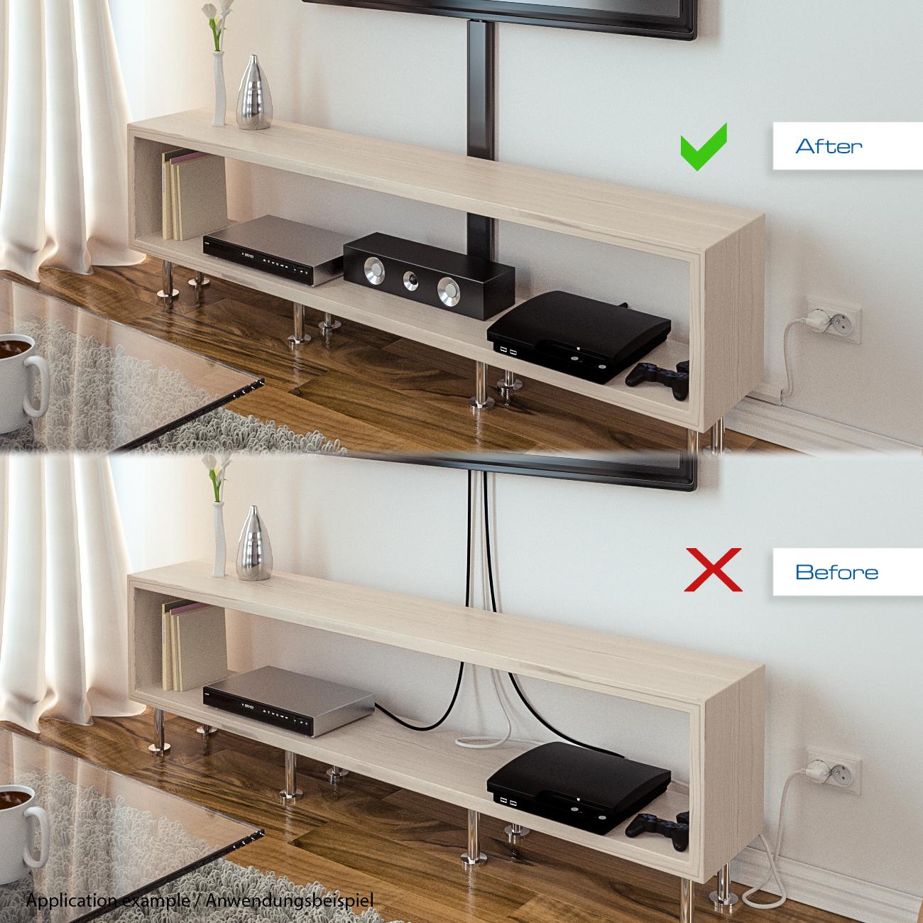 deleycon universal kabelkanal kunststoff deleycondeleycon. Black Bedroom Furniture Sets. Home Design Ideas