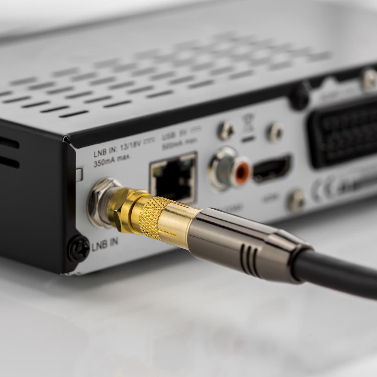 deleycon sat antennenadapter kabel auf sat adapter f stecker auf iec stecker set 2 st ck. Black Bedroom Furniture Sets. Home Design Ideas